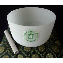 Crystal singing bowl size 11'' E tone
